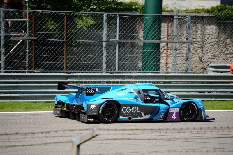Het Europese Prototype van de Reekssporten van Le Mans stock foto