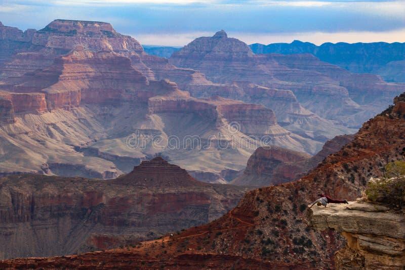 Het in evenwicht brengen over Grand Canyon