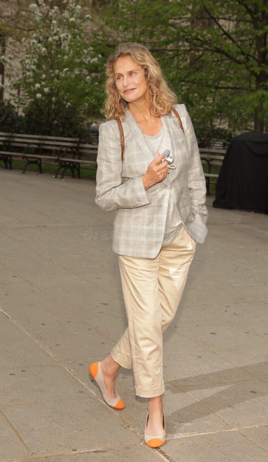 Het ex-super model van Hutton van Lauren royalty-vrije stock foto