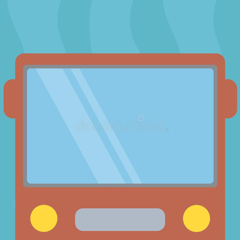 Het exemplaar ruimtetekst ontwerp bedrijfsconcepten isoleerde de Lege malplaatje voor Advertentiewebsite Getrokken Vlak Front Vie vector illustratie