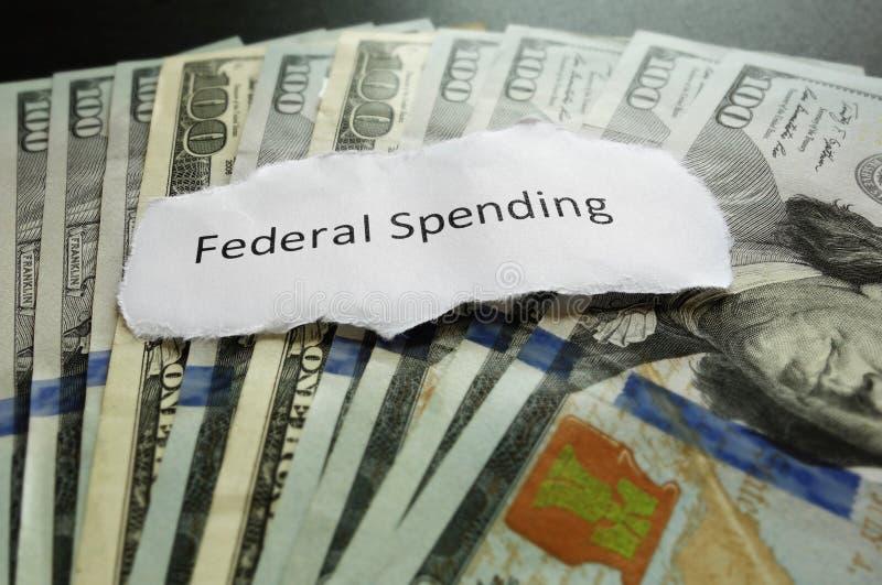 Het federale Besteden royalty-vrije stock foto