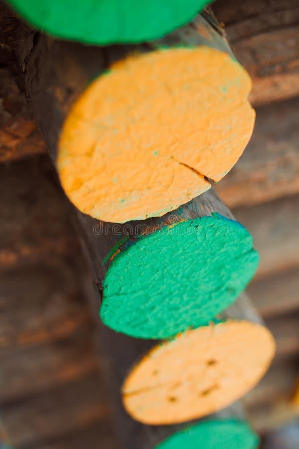 Het Felling van een boom stock foto's