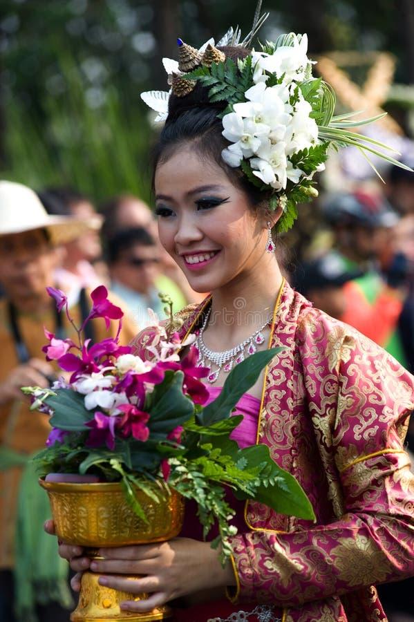 Het festival van de Bloem van MAI van Thailand Chiang royalty-vrije stock foto's