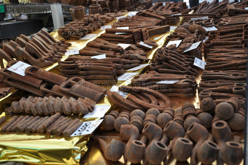 Het Festival van de chocolade royalty-vrije stock afbeeldingen