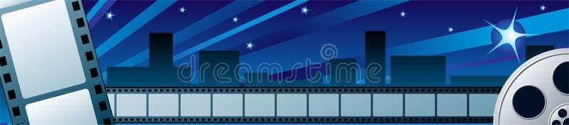 Het festival van de film stock illustratie