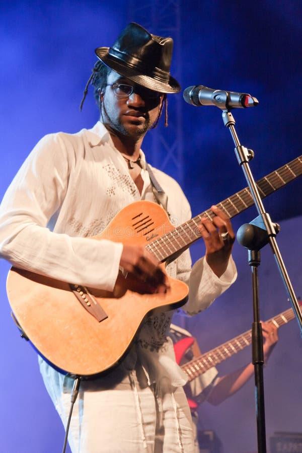 Het Festival van de Jazz van Kriol op 13 April, 2011 royalty-vrije stock foto's