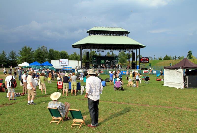 Het Festival van de Jazz van Toronto stock foto