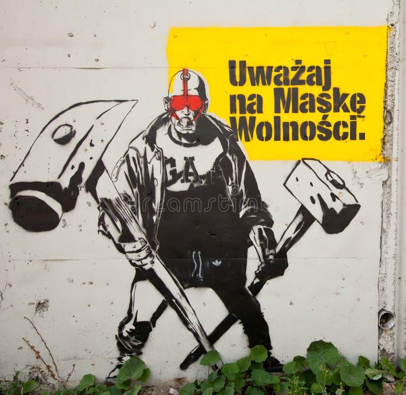 Het Festival van de Kunst van de Straat van Katowice royalty-vrije stock afbeelding