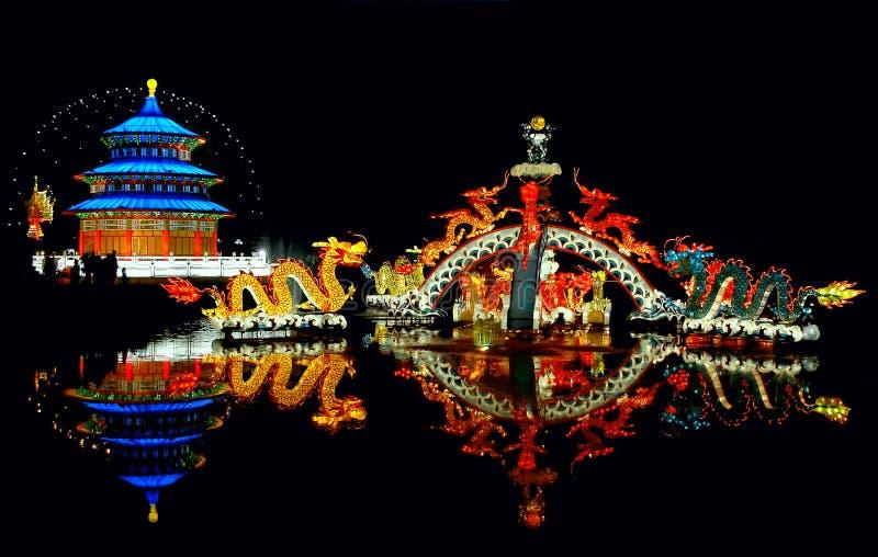 Het Festival van de lantaarn royalty-vrije stock foto's