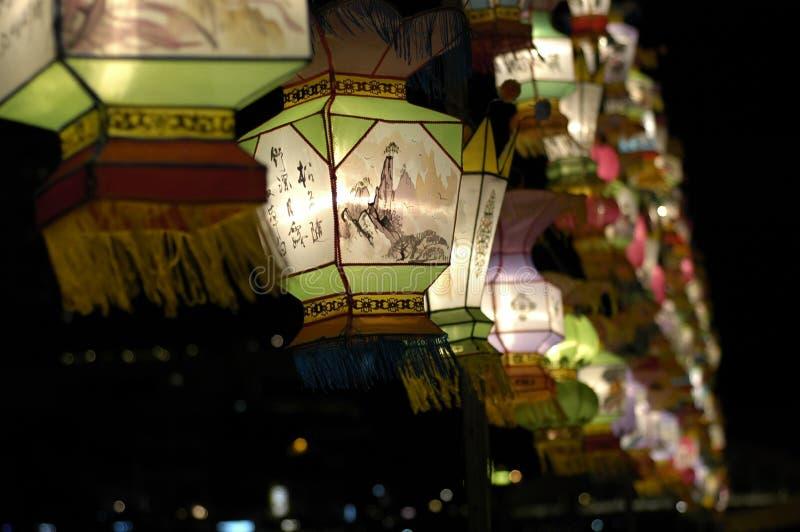 Het Festival van de lantaarn in Singapore stock afbeelding