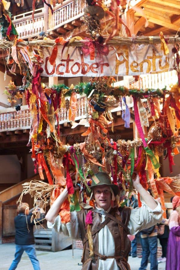 Het Festival van de Overvloed van oktober, Londen het UK royalty-vrije stock foto