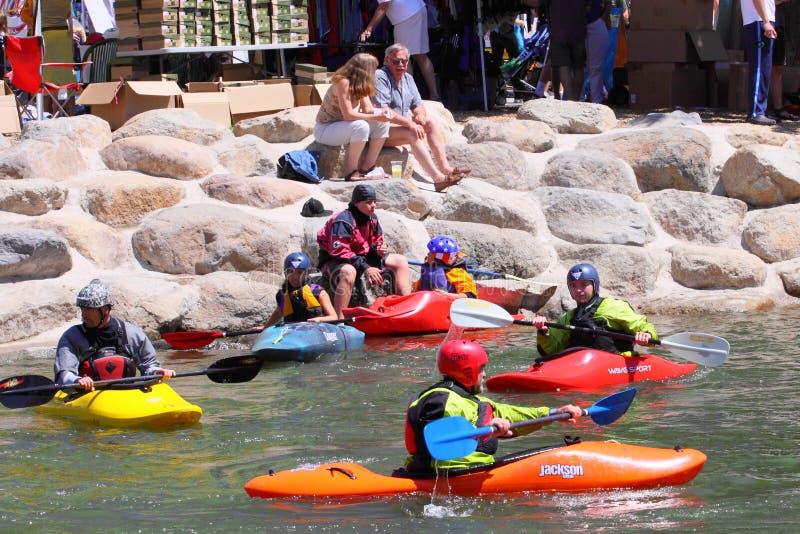 Het Festival van de Rivier van Reno royalty-vrije stock afbeeldingen
