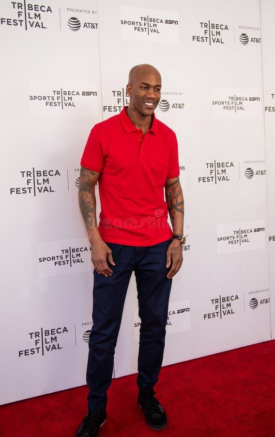 Het Festival van de Tribecafilm - Rood Tapijt v??r premi?re van documentair ?Jong geitje van Coney Island ? royalty-vrije stock foto's