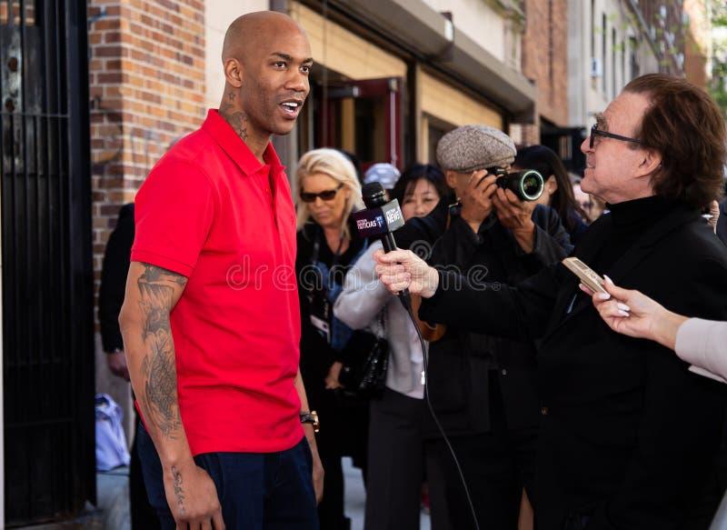 Het Festival van de Tribecafilm - Rood Tapijt v??r premi?re van documentair ?Jong geitje van Coney Island ? stock foto's