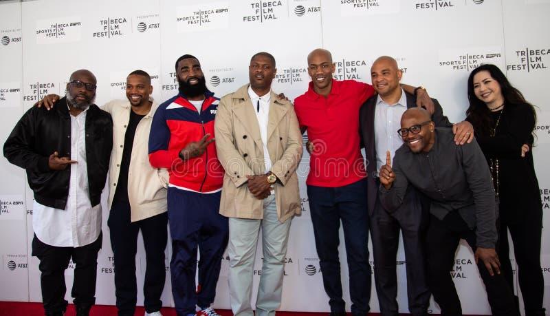 Het Festival van de Tribecafilm - Rood Tapijt v??r premi?re van documentair ?Jong geitje van Coney Island ? stock afbeeldingen