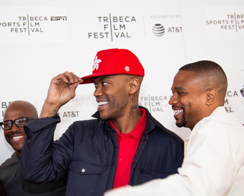 Het Festival van de Tribecafilm - Rood Tapijt v??r premi?re van documentair ?Jong geitje van Coney Island ? royalty-vrije stock afbeeldingen