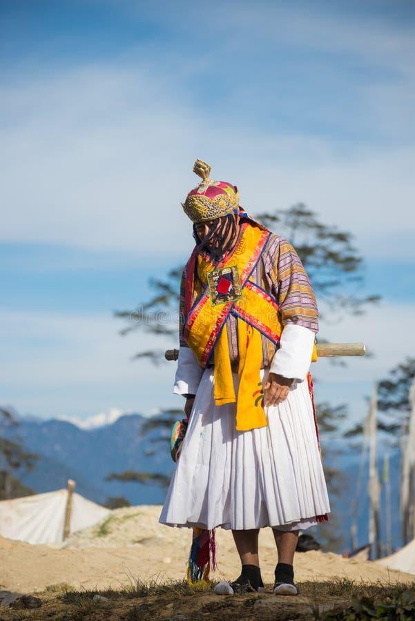Het Festival 2014 van Dochuladruk Wangyel stock afbeelding