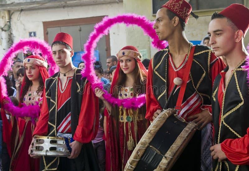 Het festival van Druze royalty-vrije stock foto's