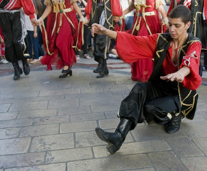 Het festival van Druze royalty-vrije stock foto