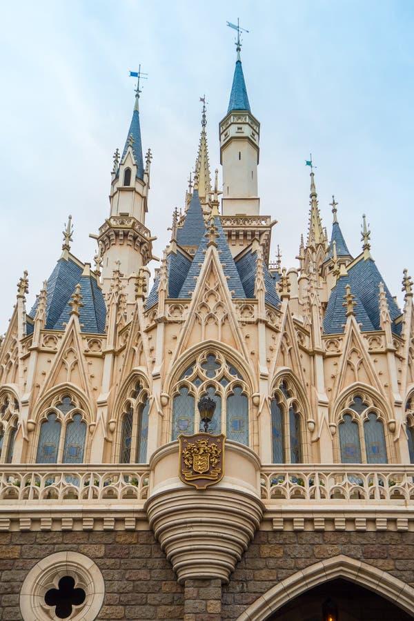 Het festival van het landhalloween van Tokyo Disney: 24 OKTOBER 2017: LOCATI royalty-vrije stock afbeelding
