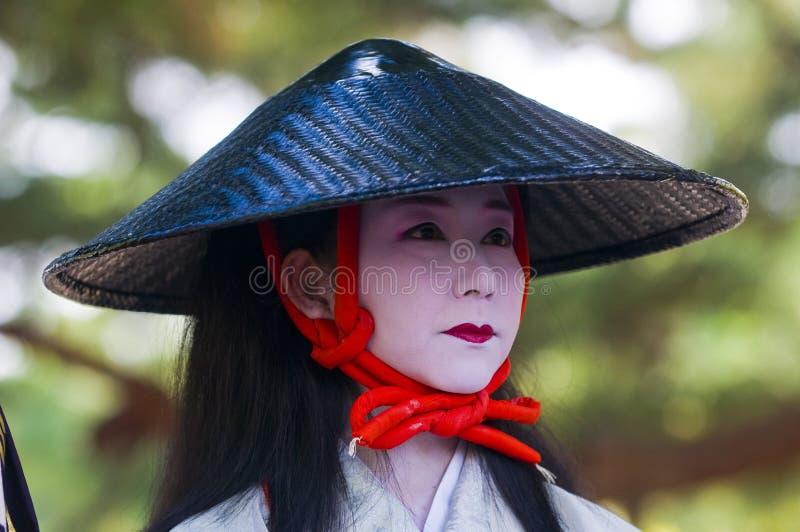 Het festival van Matsuri van Jidai stock foto