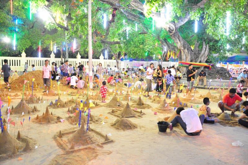 Het festival van Thailand stock fotografie