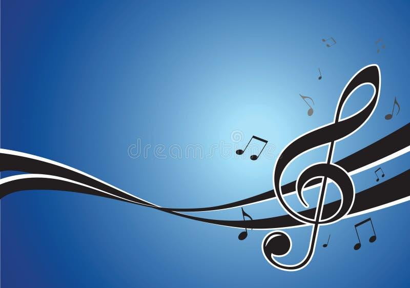 Het festivalillustratie van de muziek royalty-vrije illustratie