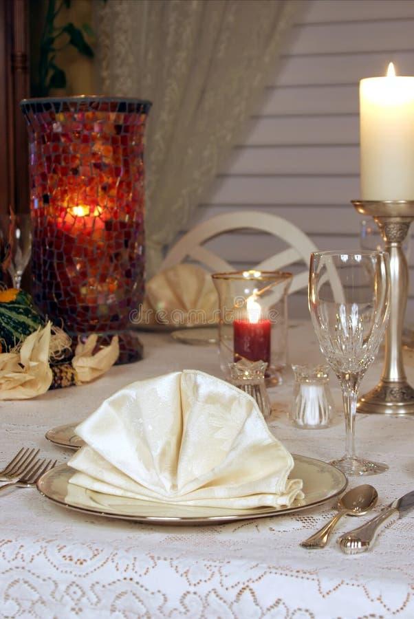 Het fijne Dineren stock afbeelding