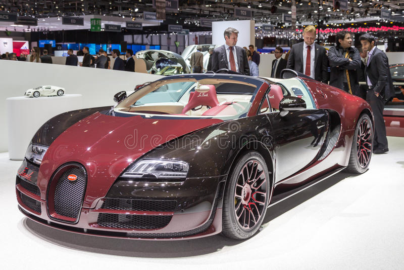2015 het Finale van La van Bugatti Veyron royalty-vrije stock afbeelding