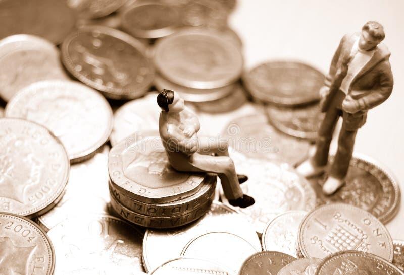 Het financiële adviseren royalty-vrije stock foto's