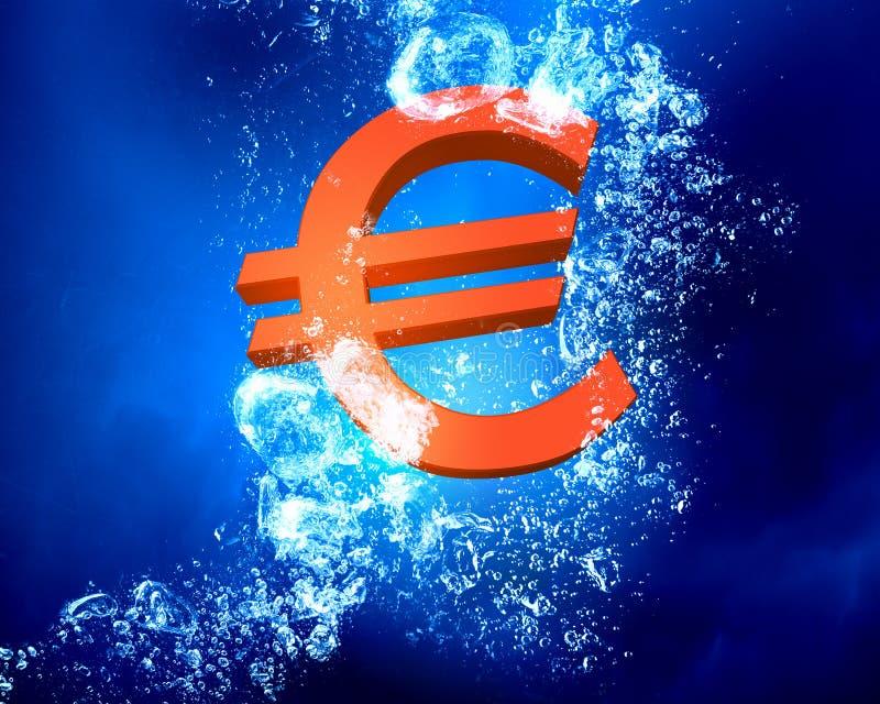 Het financiële Concept van de Crisis stock illustratie