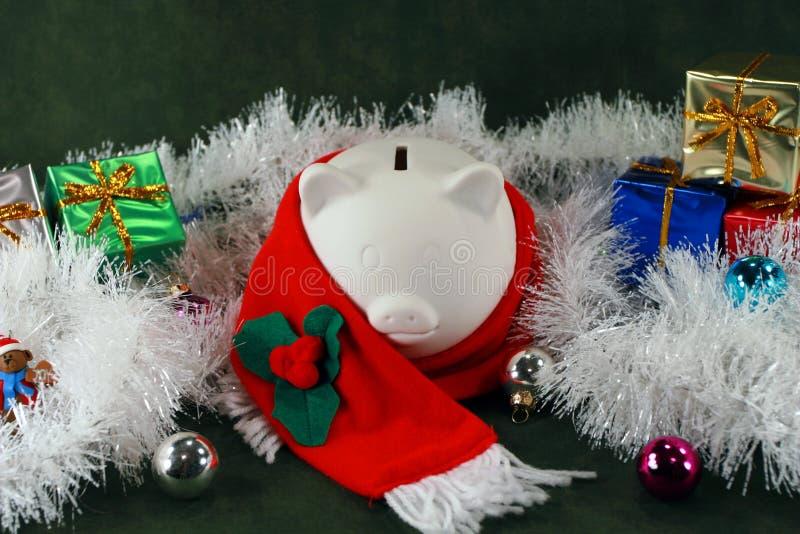 Het financiële Seizoen van Kerstmis stock afbeelding