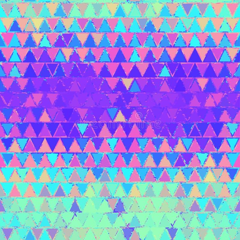Het flikkeren driehoekentextuur royalty-vrije stock foto
