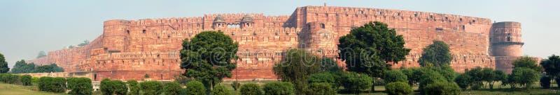 Het fort Agra stock foto's