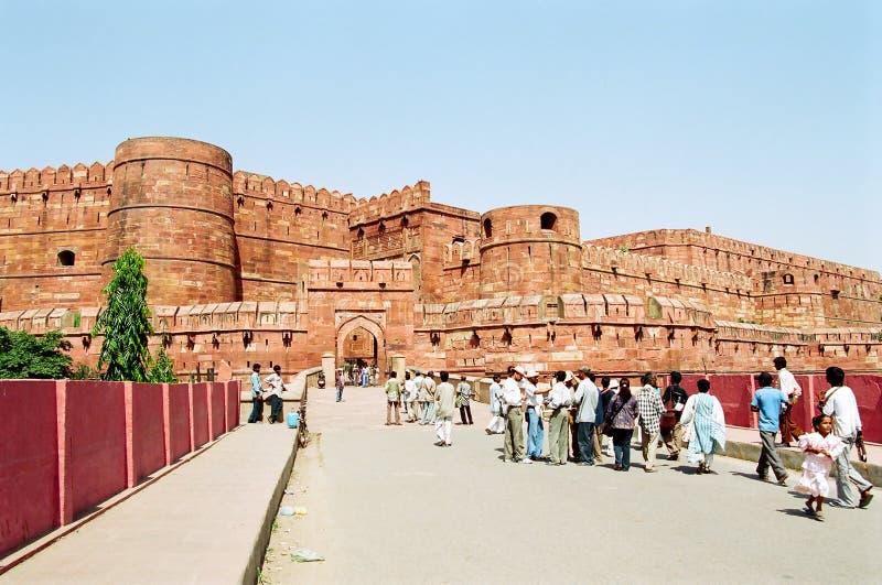 Het Fort van Agra royalty-vrije stock foto's