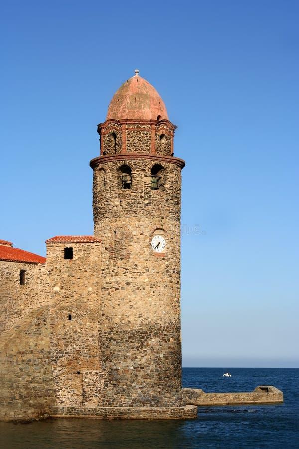 Het fort van Collioure royalty-vrije stock foto