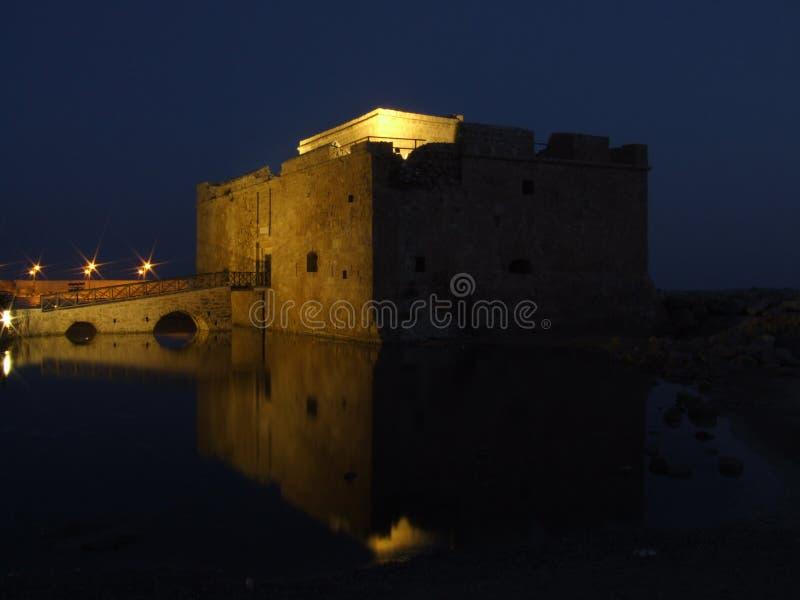 Het Fort van Cyprus op Waterkant stock foto