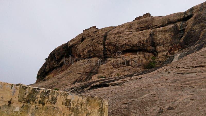 Het Fort van de Dindigulrots stock afbeelding