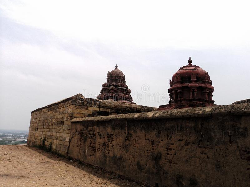 Het Fort van de Dindigulrots royalty-vrije stock foto