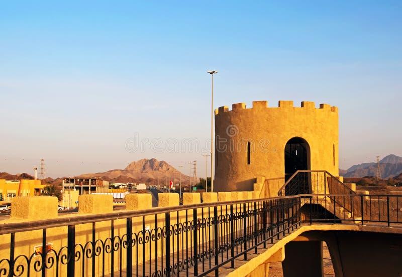 Het Fort van Hatta stock afbeelding