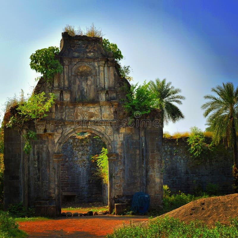 Het fort van Mumbaivasai royalty-vrije stock foto