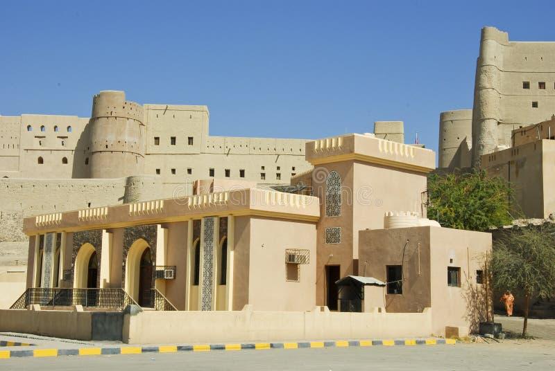 Het Fort van Nizwabahla in Advertentie Dakhiliya, Oman royalty-vrije stock afbeelding