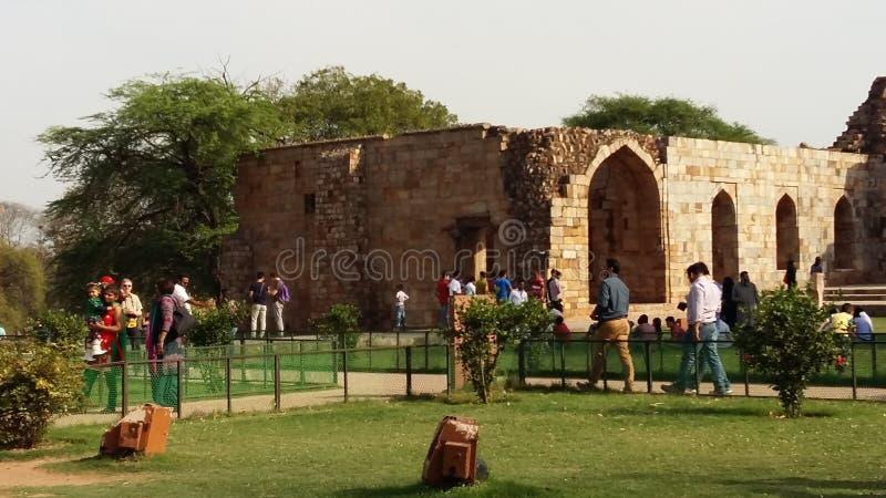 Het Fort van Qutubminar royalty-vrije stock afbeelding