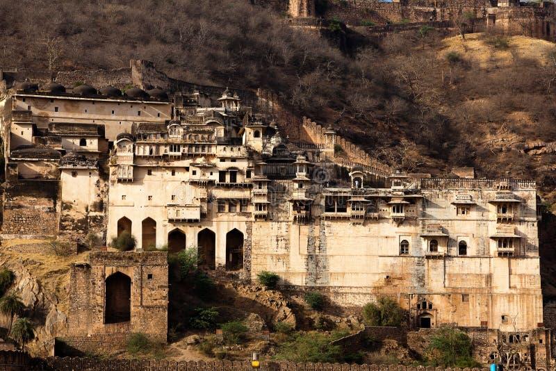 Het fort van Taragarh stock afbeelding
