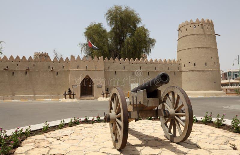 Het Fort van Zayed van de bak van de sultan in Al Ain stock afbeeldingen
