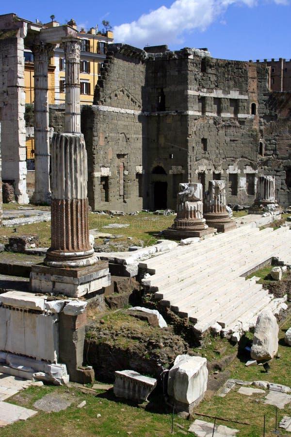 Het forum van Trajan Rome royalty-vrije stock afbeelding
