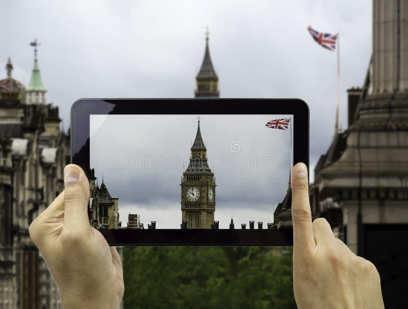 Het fotograferen van de Big Ben royalty-vrije stock afbeelding