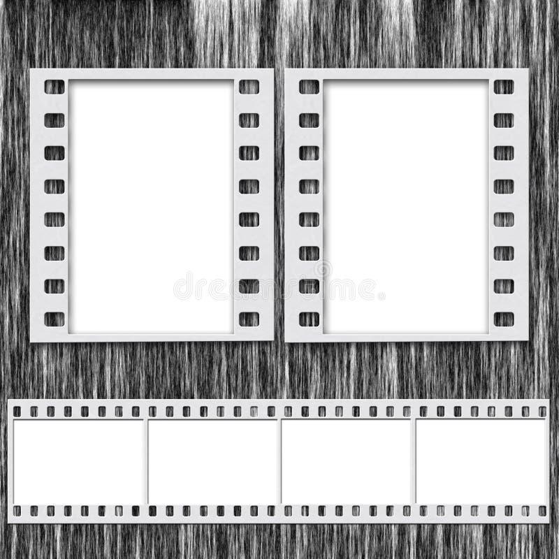 Het Frame en de Strook van de film royalty-vrije stock foto's