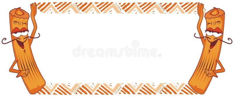 Download Het Frame Van Churro, Spaanse Doughnut Royalty-vrije Stock Foto - Afbeelding: 28418145