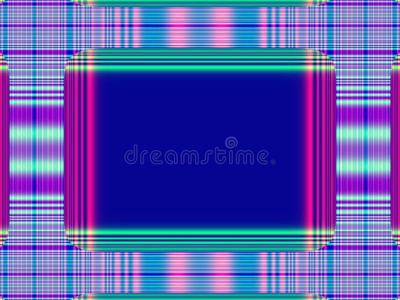 Het frame van cpu. royalty-vrije illustratie